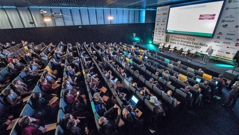 Auditorio del IV Congreso Ciudades Inteligentes