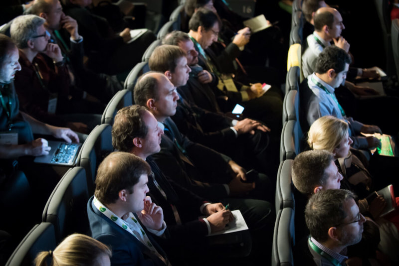 Público Auditorio IV Congreso Edificios Energía Casi Nula 2017