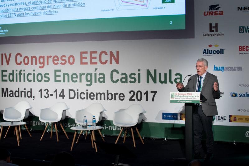 Ponencia Magistral en el IV Congreso Edificios Energía Casi Nula 2017