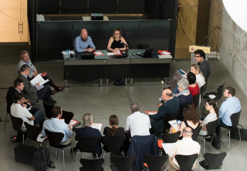 Primera reunión Comité Técnico V Congreso EECN - Julio 2018