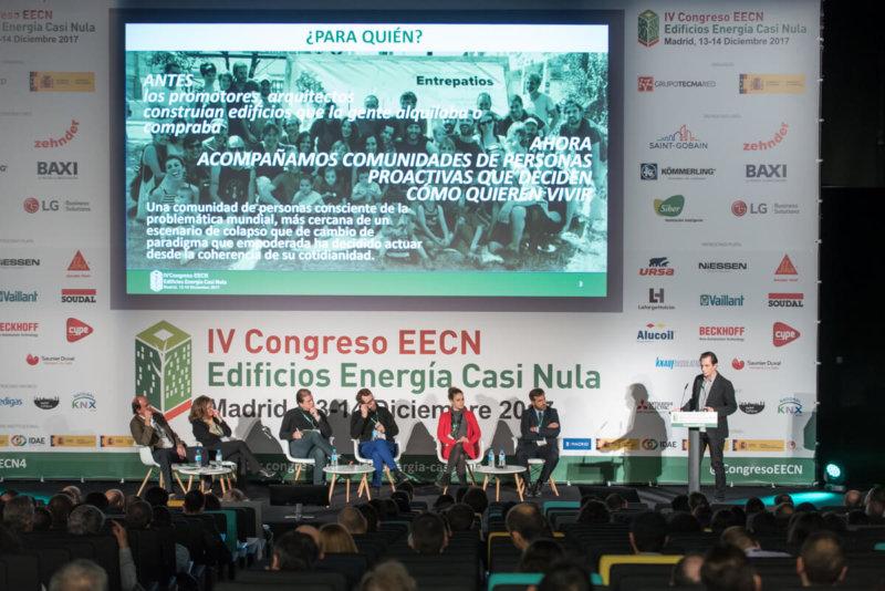 Ponencia de una Comunicación en el IV Congreso EECN 2017