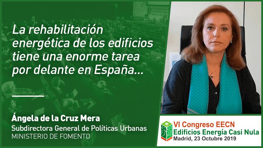 Entrevista a Ángela de La Cruz de Ministerio de Fomento