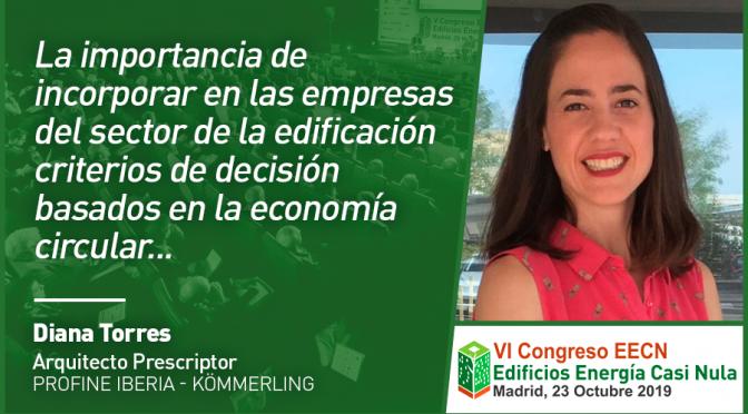 Entrevista a Diana Torres de Profine Iberia – Kömmerling