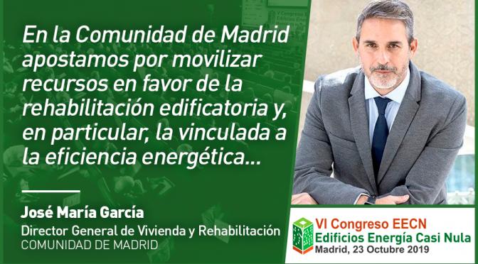 Entrevista a José María García Gómez de Comunidad de Madrid