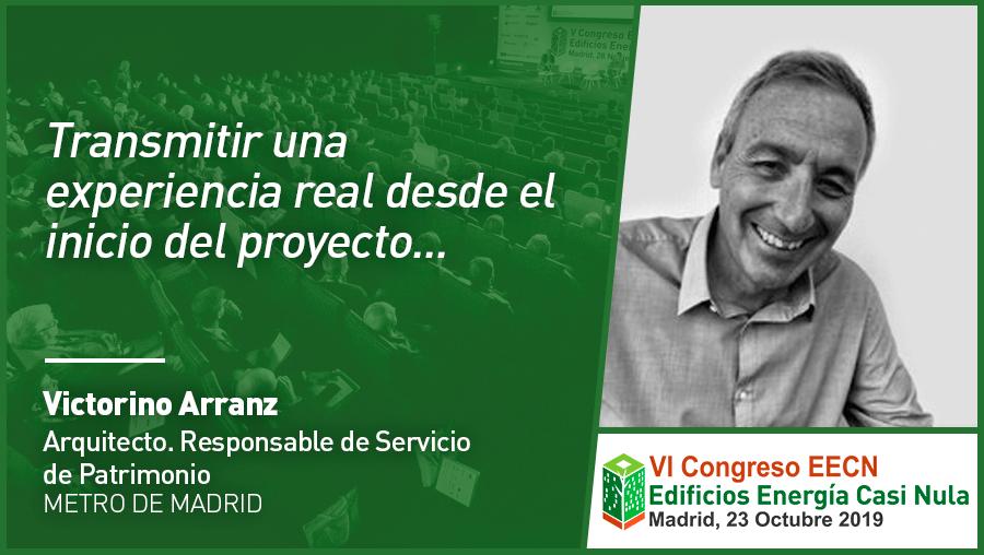 Entrevista a Victorino Arranz de Metro de Madrid