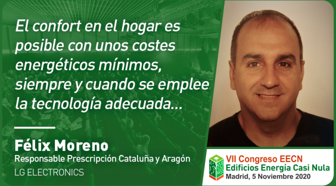 Entrevista a Félix Moreno de LG Electronics